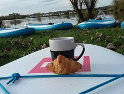 ellerton lake paddle board spot in United Kingdom
