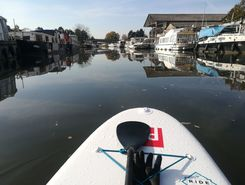 canal de digoin spot de stand up paddle en France