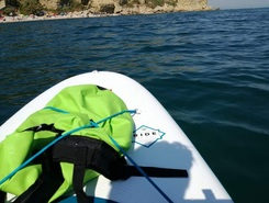 lido riccio sitio de stand up paddle / paddle surf en Italia