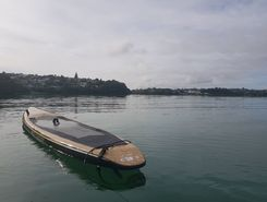 Okahu bay paddle board spot in New Zealand