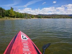 lake Jindabyne  paddle board spot in Australia