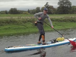 ellerton lake spot de stand up paddle en Royaume-Uni