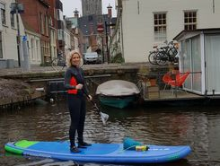 Groningen center paddle board spot in Netherlands