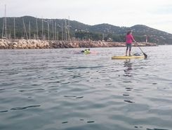 port de Carqueiranne spot de stand up paddle en France
