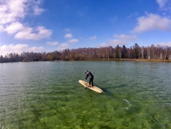 Wörthsee paddle board spot in Germany