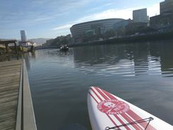 BILBAO paddle board spot in Spain