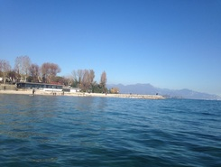 Desenzano  paddle board spot in Italy