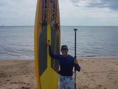 playa veracruz spot de stand up paddle en Panama