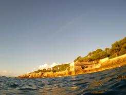 plage de la salis spot de stand up paddle en France