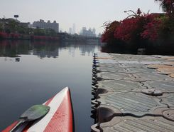 love river paddle board spot in Taiwan