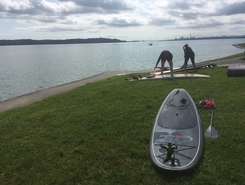 Spinnaker Reserve, Te Atatu Peninsula paddle board spot in New Zealand