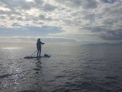 Santa lucia   spot de stand up paddle en France