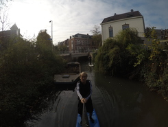 Utrecht paddle board spot in Netherlands