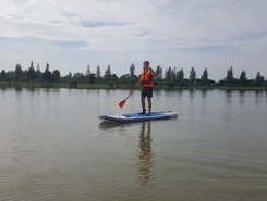 UNISEL paddle board spot in Malaysia