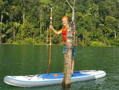 Setia Alam Secret Unknown Lake sitio de stand up paddle / paddle surf en Malasia