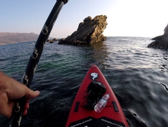 GREECE : EVIA ISLAND : MARMARI sitio de stand up paddle / paddle surf en Grecia