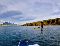 Walchensee sitio de stand up paddle / paddle surf en Alemania