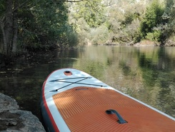 Cetina river sitio de stand up paddle / paddle surf en Croacia