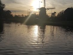 Amstel paddle board spot in Netherlands