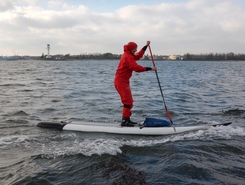 Ostsee paddle board spot in Germany