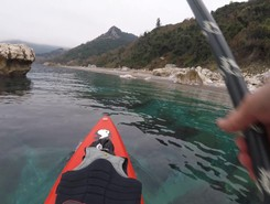 GREECE : EVIA ISLAND : METOCHI  sitio de stand up paddle / paddle surf en Grecia