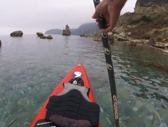 GREECE : EVIA ISLAND : METOCHI  spot de stand up paddle en Grèce