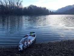 Domaine des iles  paddle board spot in Switzerland