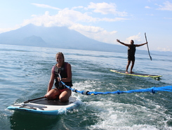 PanasurfSuP paddle board spot in Guatemala