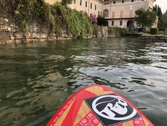 Barbarano spot de stand up paddle en Italie