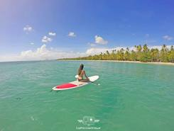 les salines sainte anne spot de stand up paddle en Martinique