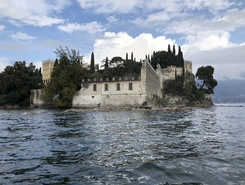Isola del Garda paddle board spot in Italy