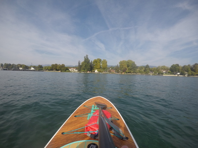Port de Crans paddle board spot in Switzerland