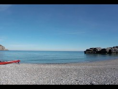 GREECE : EUBEE ISLAND : PARALIA CHILIADOU paddle board spot in Greece