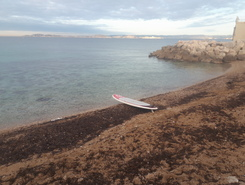 Maïre paddle board spot in France
