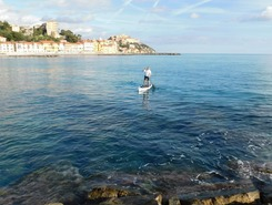 Porto Marizio paddle board spot in Italy
