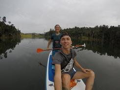 Setia Alam Secret Unknown Lake paddle board spot in Malaysia