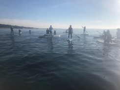 Almanarre Nord spot de stand up paddle en France