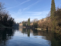 Peschiera del Garda paddle board spot in Italy