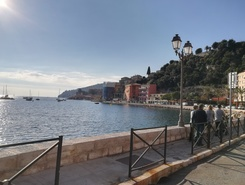 Villefranche sur Mer paddle board spot in France
