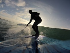 tréguennec sitio de stand up paddle / paddle surf en Francia