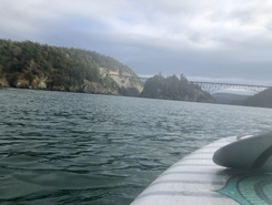 Bowman Bay, Deception Pass State Park paddle board spot in United States