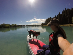 Lake Ruataniwha paddle board spot in New Zealand