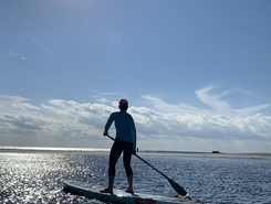 Grayton Beach Western Lake and Gulf acces paddle board spot in United States