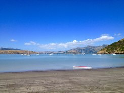 Cass Bay paddle board spot in New Zealand