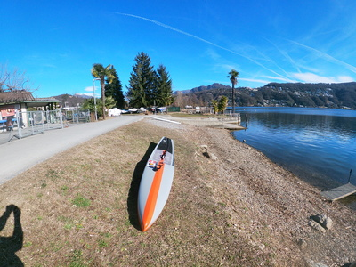 Malcantone paddle board spot in Switzerland