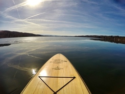 Pilsensee paddle board spot in Germany