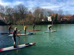 Joinville le Pont paddle board spot in France
