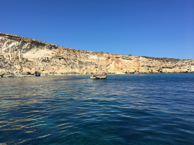 Mistra spot de stand up paddle en Malte