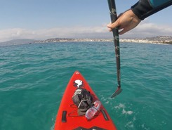 CANNES palm beach paddle board spot in France