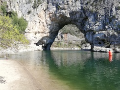 SupAirArdeche paddle board spot in France